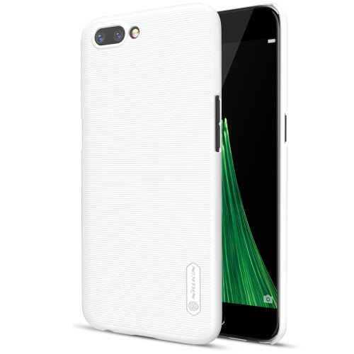 Buy NILLKIN Frosted Shield for OPPO R11 Concave-convex Texture PC Protective Case Back Cover, White for $3.85 in SUNSKY store