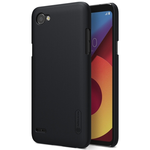 Buy NILLKIN Frosted Shield for LG Q6 Concave-convex Texture PC Protective Case Back Cover, Black for $3.84 in SUNSKY store