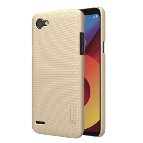 Buy NILLKIN Frosted Shield for LG Q6 Concave-convex Texture PC Protective Case Back Cover, Gold for $3.84 in SUNSKY store