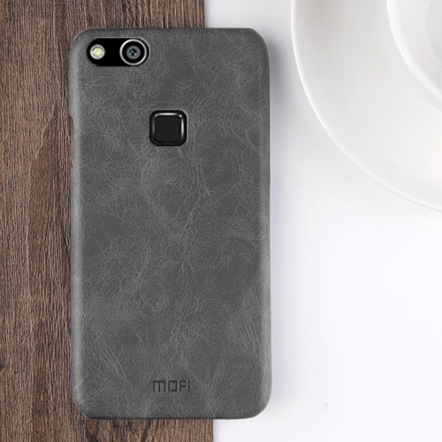 Buy MOFI Huawei nova Lite Crazy Horse Texture Leather Surface PC Protective Back Cover Case, Black for $3.95 in SUNSKY store