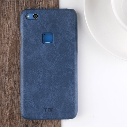 Buy MOFI Huawei nova Lite Crazy Horse Texture Leather Surface PC Protective Back Cover Case (Dark Blue) for $3.95 in SUNSKY store