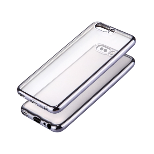 Buy Huawei P10 Electroplating Frame Soft TPU Protective Case, Grey for $1.16 in SUNSKY store