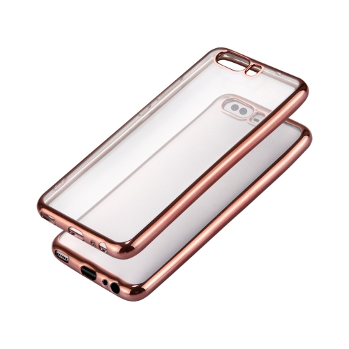 Buy Huawei P10 Electroplating Frame Soft TPU Protective Case (Rose Gold) for $1.16 in SUNSKY store