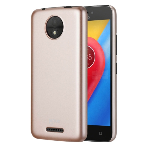 Buy Lenuo for Motorla Moto C PC Ultra-thin Impact Protection Case, Gold for $2.91 in SUNSKY store