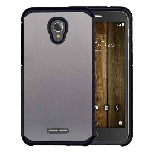 Buy For Alcatel Fierce 4 Corselet TPU + PC Combination Back Case, Grey for $2.17 in SUNSKY store