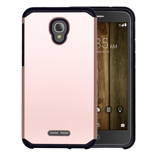 Buy For Alcatel Fierce 4 Corselet TPU + PC Combination Back Case (Rose Gold) for $2.17 in SUNSKY store