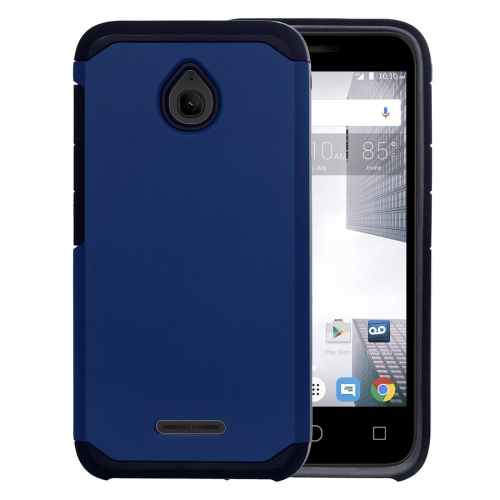 Buy For Alcatel Dawn / OT5027 Corselet TPU + PC Combination Back Case (Dark Blue) for $2.17 in SUNSKY store