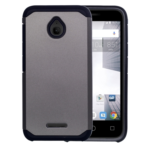 Buy For Alcatel Dawn / OT5027 Corselet TPU + PC Combination Back Case, Grey for $2.17 in SUNSKY store