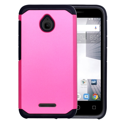 Buy For Alcatel Dawn / OT5027 Corselet TPU + PC Combination Back Case, Magenta for $2.17 in SUNSKY store