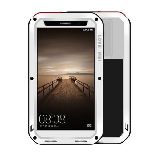 Buy LOVE MEI Huawei Mate 9 Professional and Powerful Dustproof Shockproof Anti-slip Metal + Silicone Combination Case, White for $18.53 in SUNSKY store