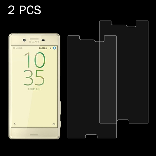 Buy 2 PCS for Sony Xperia X Performance 0.26mm 9H Surface Hardness 2.5D Explosion-proof Tempered Glass Screen Film for $1.36 in SUNSKY store