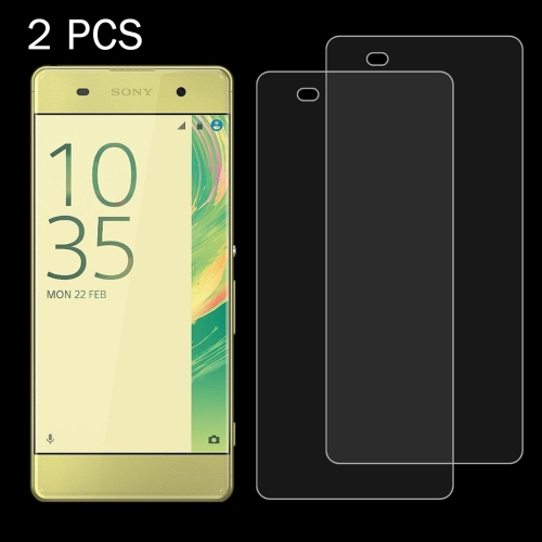 Buy 2 PCS for Sony Xperia XA 0.26mm 9H Surface Hardness 2.5D Explosion-proof Tempered Glass Screen Film for $1.36 in SUNSKY store
