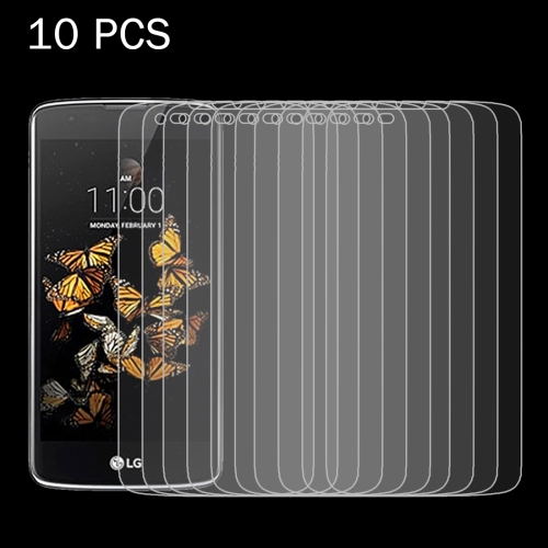 Buy 10 PCS for LG K8 0.26mm 9H Surface Hardness 2.5D Explosion-proof Tempered Glass Screen Film for $4.90 in SUNSKY store