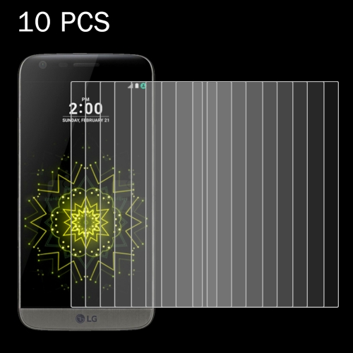 Buy 10 PCS for LG G5 0.26mm 9H Surface Hardness 2.5D Explosion-proof Tempered Glass Screen Film for $4.76 in SUNSKY store