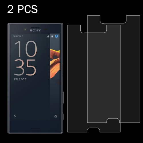 Buy 2 PCS For Sony Xperia X Compact 0.26mm 9H Surface Hardness 2.5D Explosion-proof Tempered Glass Screen Film for $1.29 in SUNSKY store