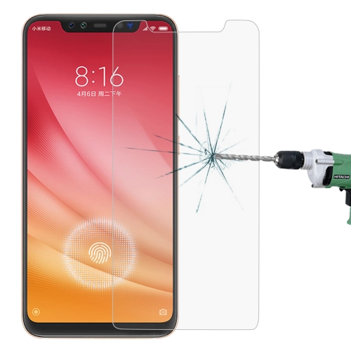 0.26mm 9H 2.5D Explosion-proof Tempered Glass Film for Xiaomi Mi 8 Pro