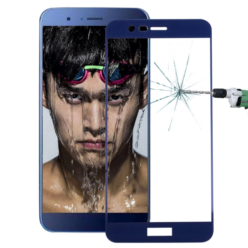 Buy Huawei Honor V9 0.26mm 9H Surface Hardness Explosion-proof Full Screen Tempered Glass Screen Film (Dark Blue) for $1.34 in SUNSKY store