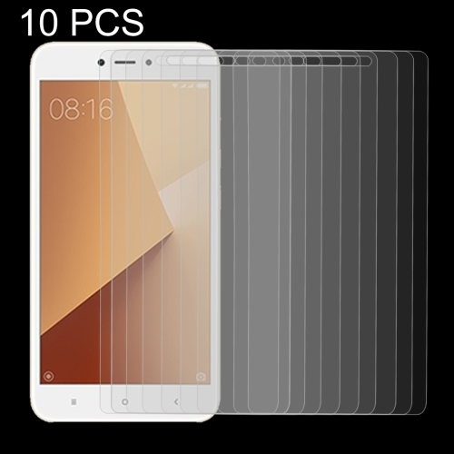 LGYD 50 PCS for Xiaomi Redmi 4X 0.26mm 9H Surface Hardness Explosion-Proof Non-Full Screen Tempered Glass Film