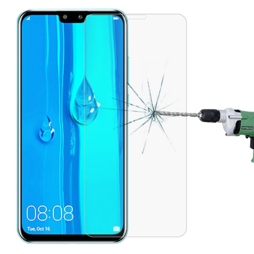 0.26mm 9H 2.5D Explosion-proof Tempered Glass Film for Huawei Y9 (2019) / Enjoy 9 Plus