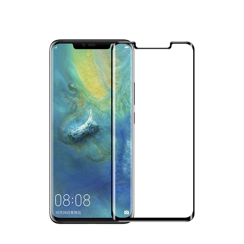 MOFI 9H 3D Explosion-proof Curved Screen Full Glue Tempered Glass Film for Huawei Mate 20 Pro(Black)