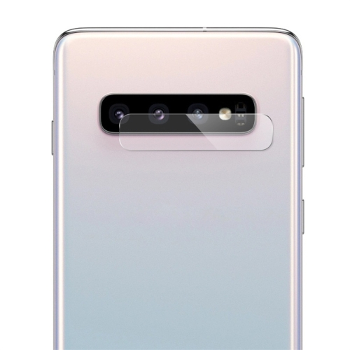 ENKAY Hat-Prince 0.2mm 9H 2.15D Curved Explosion-proof Rear Camera Lens Protector Tempered Glass Film for Galaxy S10 / S10 Plus