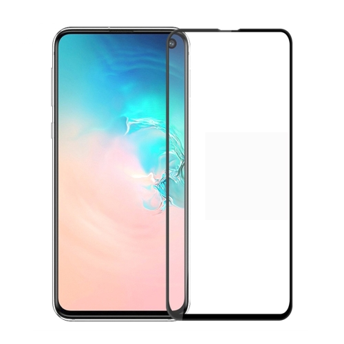 PINWUYO 9H 3D Curved Tempered Glass Film for Galaxy S10 E (Black)