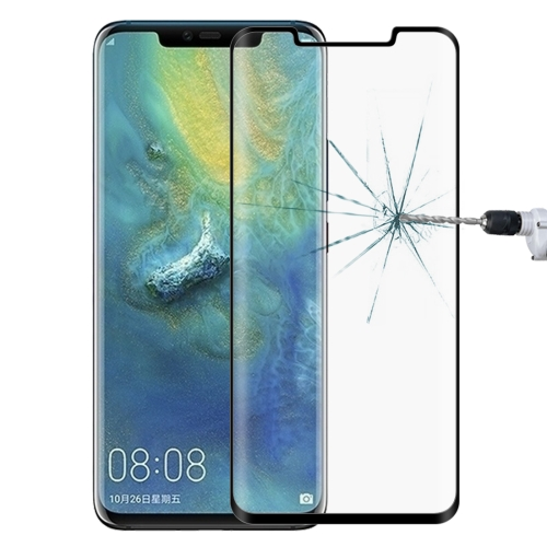 0.3mm 9H Surface Hardness 3D Curved Edge Full Screen Tempered Glass Film for Huawei Mate 20 Pro