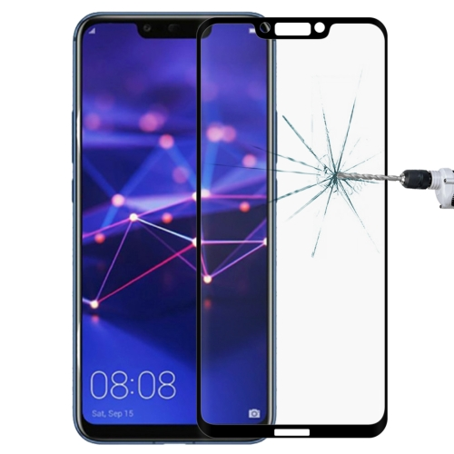 0.3mm 9H Surface Hardness 3D Curved Edge Full Screen Tempered Glass Film for Huawei Mate 20 Lite