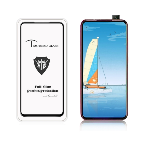 MIETUBL Full Screen Full Glue Anti-fingerprint Tempered Glass Film for Xiaomi Redmi K20 & K20 Pro(Black)