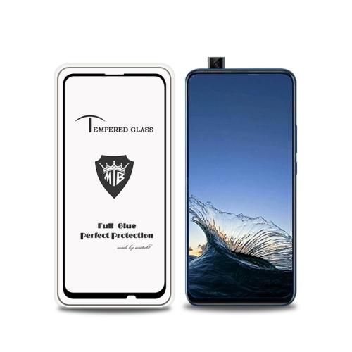 MIETUBL Full Screen Full Glue Anti-fingerprint Tempered Glass Film for Huawei P Smart Z (Black)