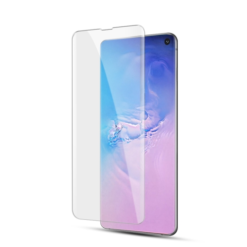 UV Liquid Curved Full Glue Tempered Glass for Galaxy S10,Support Fingerprint Unlock