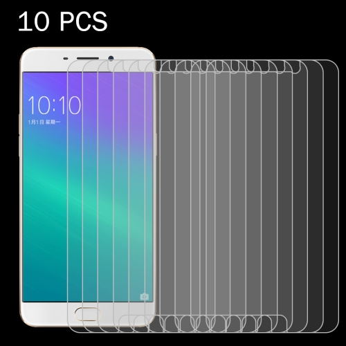 Buy 10 PCS OPPO R9 0.26mm 9H Surface Hardness 2.5D Explosion-proof Tempered Glass Screen Film for $4.69 in SUNSKY store