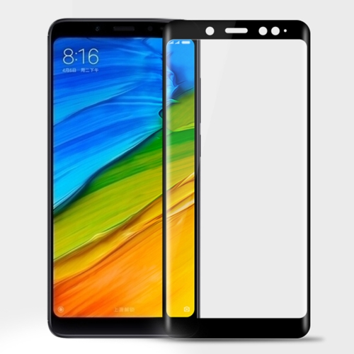 MOFI for Xiaomi Redmi Note 5 Pro 9H Surface Hardness 3D Curved Edge Full Screen HD Tempered Glass Film Screen Protector (Black) benks tempered glass for xiaomi 5 2 5d radians screen protector