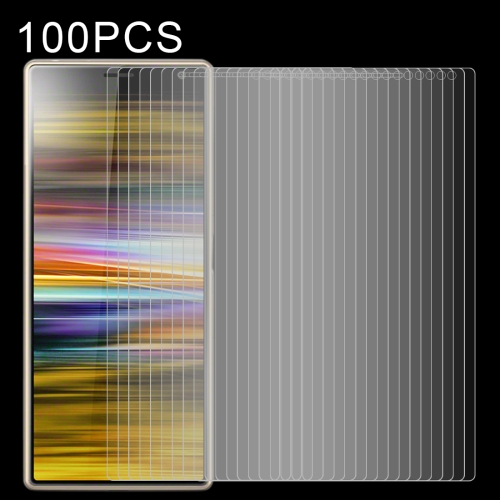 24e80ea1d SUNSKY - 100 PCS 0.26mm 9H 2.5D Tempered Glass Film for Sony Xperia ...