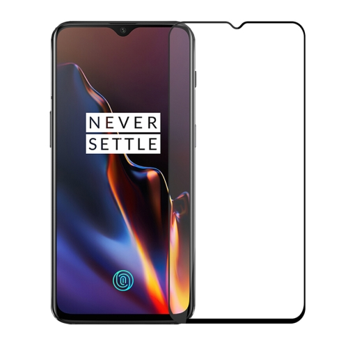 MOFI 2.5D Arc Edge 9H Surface Hardness Explosion-proof Full Screen HD Tempered Glass Film for OnePlus 6T