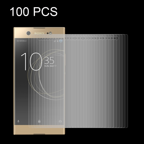 Buy 100 PCS for Sony Xperia XA1 Ultra 0.26mm 9H Surface Hardness Explosion-proof Tempered Glass Screen Film for $34.05 in SUNSKY store