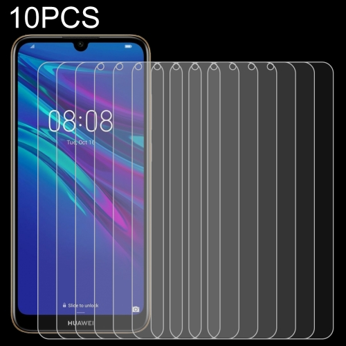 10 PCS 0.26mm 9H 2.5D Tempered Glass Film for Huawei Y6 2019