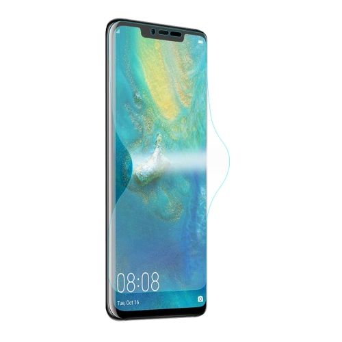 ENKAY Hat-Prince 0.1mm 3D Full Screen Protector Explosion-proof Hydrogel Film for Huawei Mate 20 Pro, TPU+TPE+PET Material