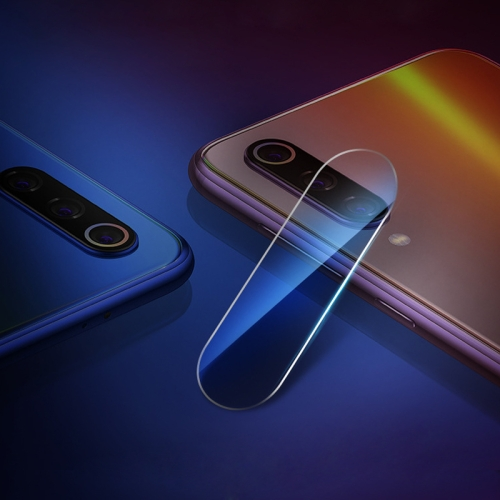 0.3mm 2.5D Transparent Rear Camera Lens Protector Tempered Glass Film for Xiaomi Mi CC9e
