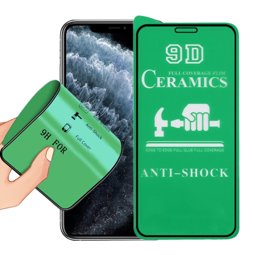 2.5D Full Glue Full Cover Ceramics Film for iPhone XS Max / 11 Pro Max