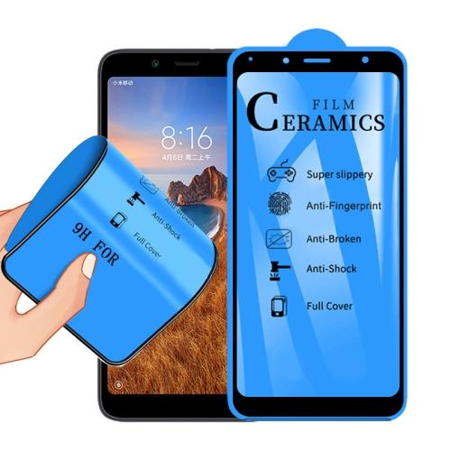 2.5D Full Glue Full Cover Ceramics Film for Xiaomi Redmi 7A фото