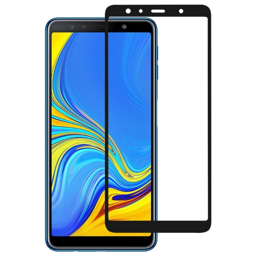 Full Glue Full Cover Screen Protector Tempered Glass film for Galaxy A7 (2018)
