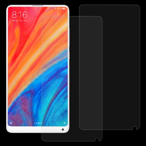 Protectores 100 PCS 0.26mm 9H 2.5D Explosion-Proof Tempered Glass Film for Mi Mix 3