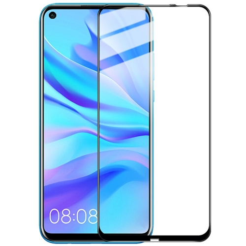 IMAK 9H Full Screen Tempered Glass Film Pro+ Version for Huawei P20 Lite 2019 / Nova 5i (Black)