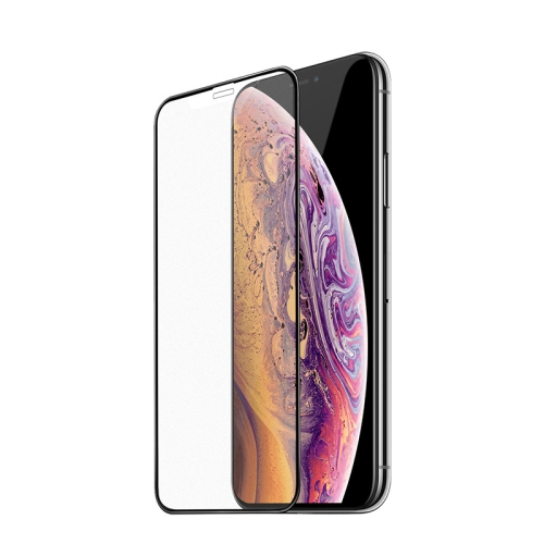 Hoco Ultra-smooth Full-screen Frosted Tempered Film for iPhone XR (Black)