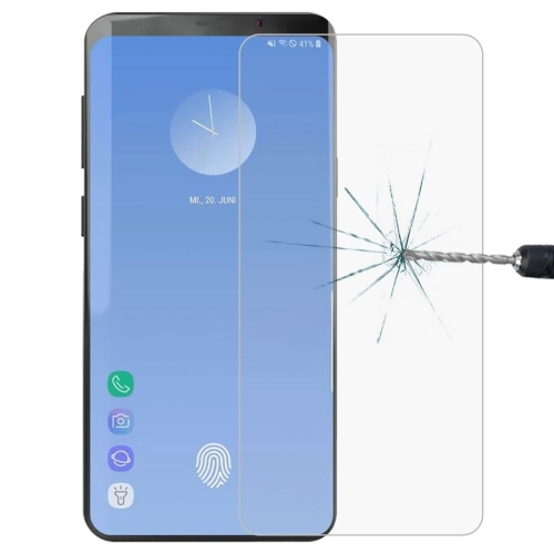 0.26mm 9H 2.5D Explosion-proof Tempered Glass Film for Galaxy S10,Screen Fingerprint Unlocking is Not Supported