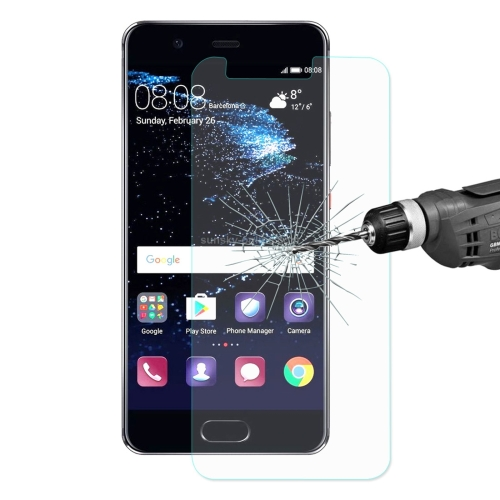ENKAY Hat-Prince for Huawei P10 Lite 0.26mm 9H Surface Hardness 2.5D Explosion-proof Tempered Glass Screen Film