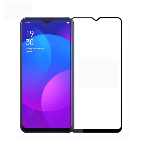 PINWUYO 9H 2.5D Full Screen Tempered Glass Film for OPPO F11 / A9 (Black)