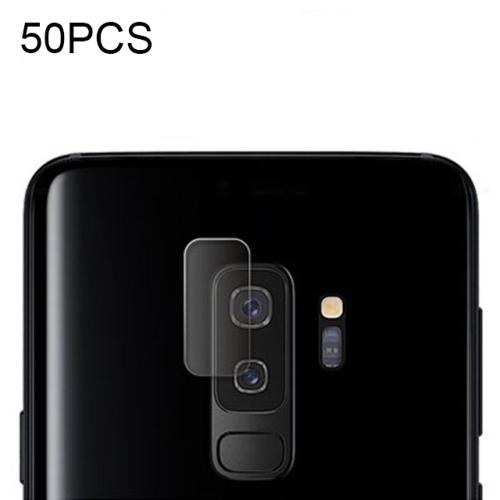 50 PCS Soft Fiber Back Camera Lens Film for Galaxy S9 Plus