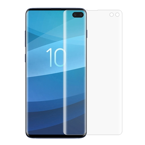 Non-full PET Soft Screen Protector for Galaxy S10+